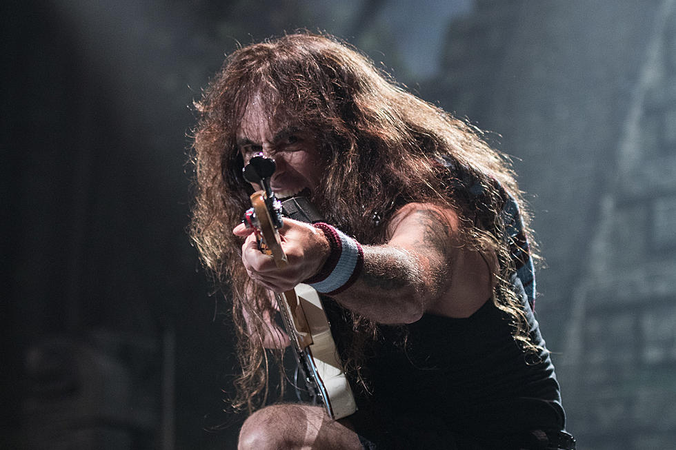 Steve Harris Defends Iron Maiden's Blaze Bayley Albums
