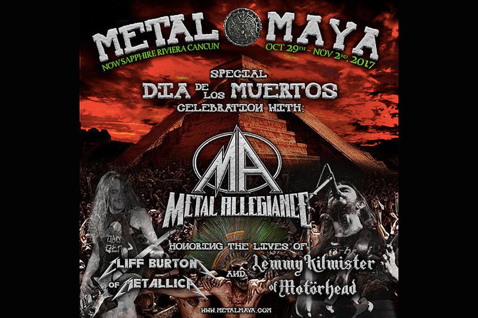 Metal Allegiance to Perform Tributes to Lemmy + Cliff Burton