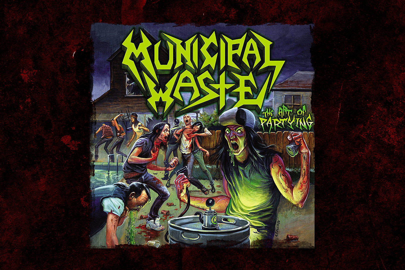 14 Years Ago: Municipal Waste Demonstrate 'The Art of Partying'