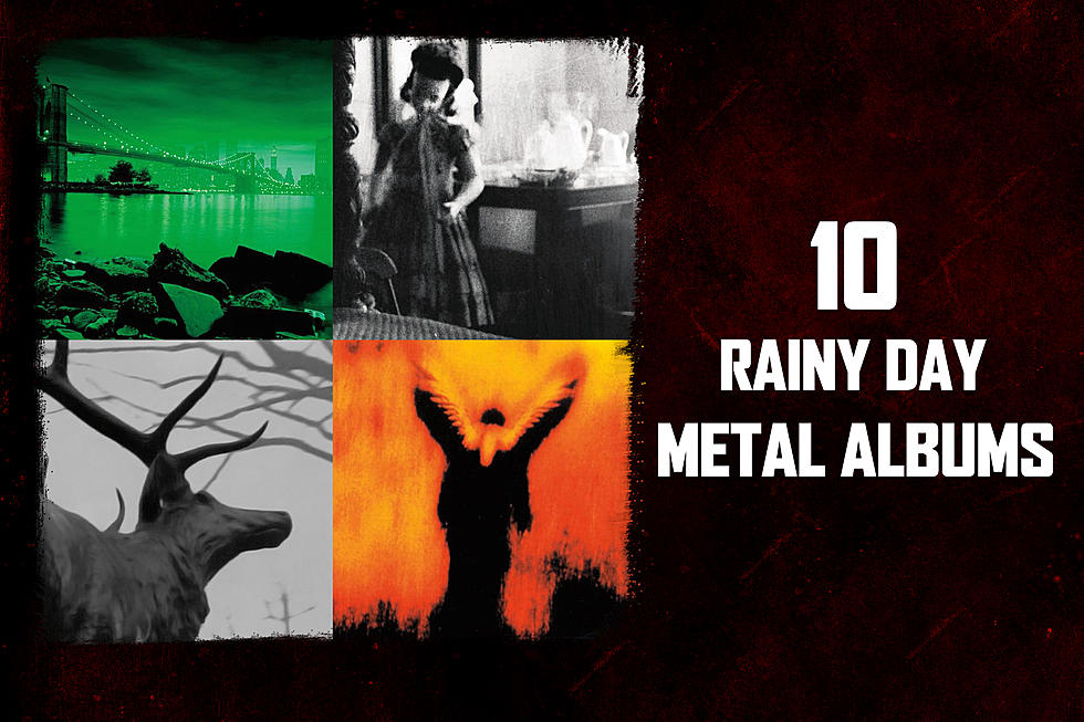 10 Metal Albums Perfect for a Rainy Day