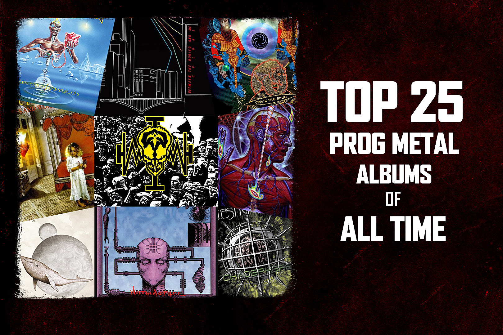 Top 25 Progressive Metal Albums of All Time