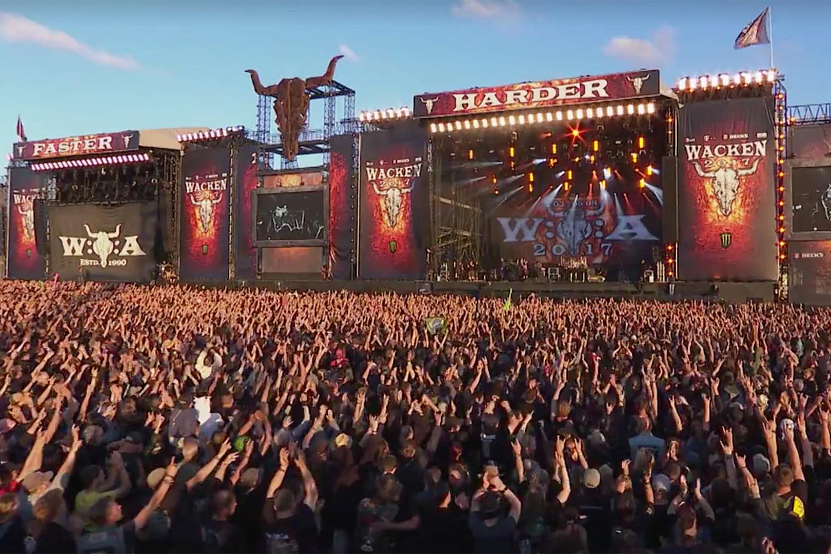 Wacken Crowd Honors Lemmy Singing Along to Motorhead's 'Heroes'