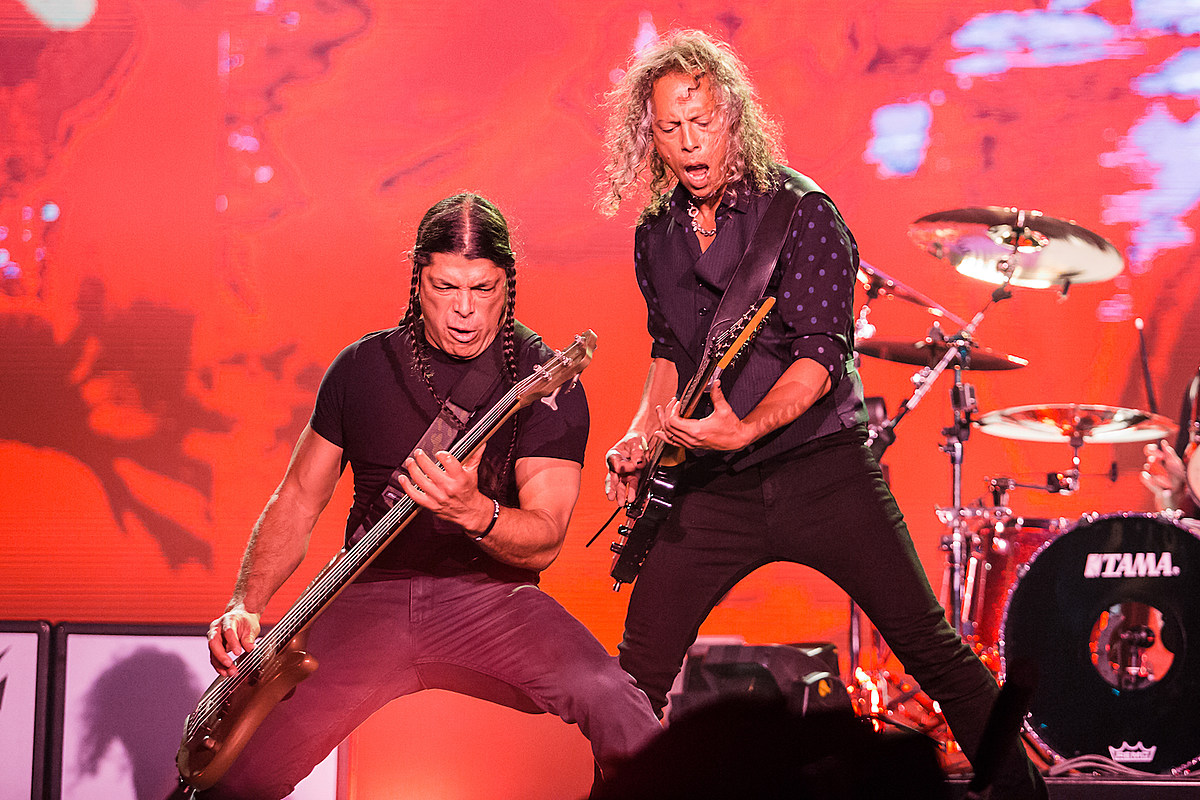 Watch Metallica Members Cover Rammstein in Germany