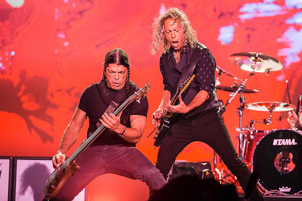 Watch Metallica Members Cover Rammstein in Germany