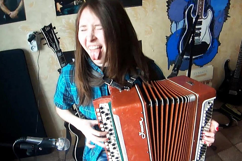 Watch This Russian Girl Rip Iron Maiden's 'The Trooper' on Accordion