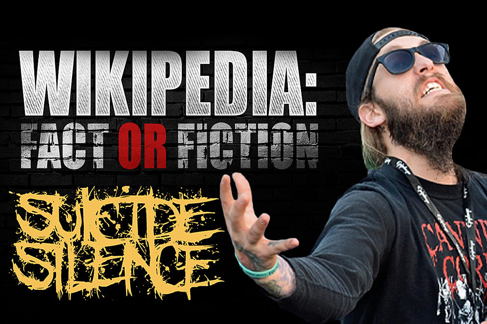 Suicide Silence Play 'Wikipedia: Fact or Fiction?'