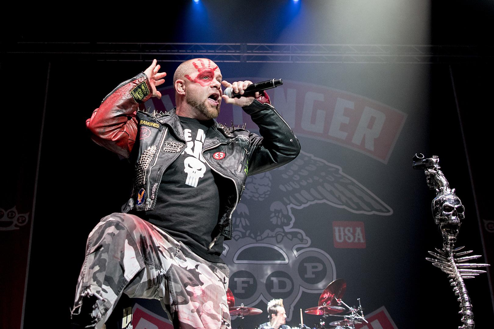 Five Finger Death Punch Cover Offspring Two Albums Go Platinum