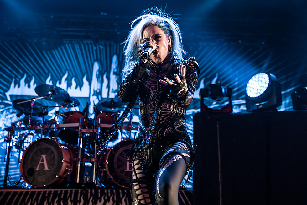 Alissa White-Gluz Denies 'Trying to Kill' the Agonist Since