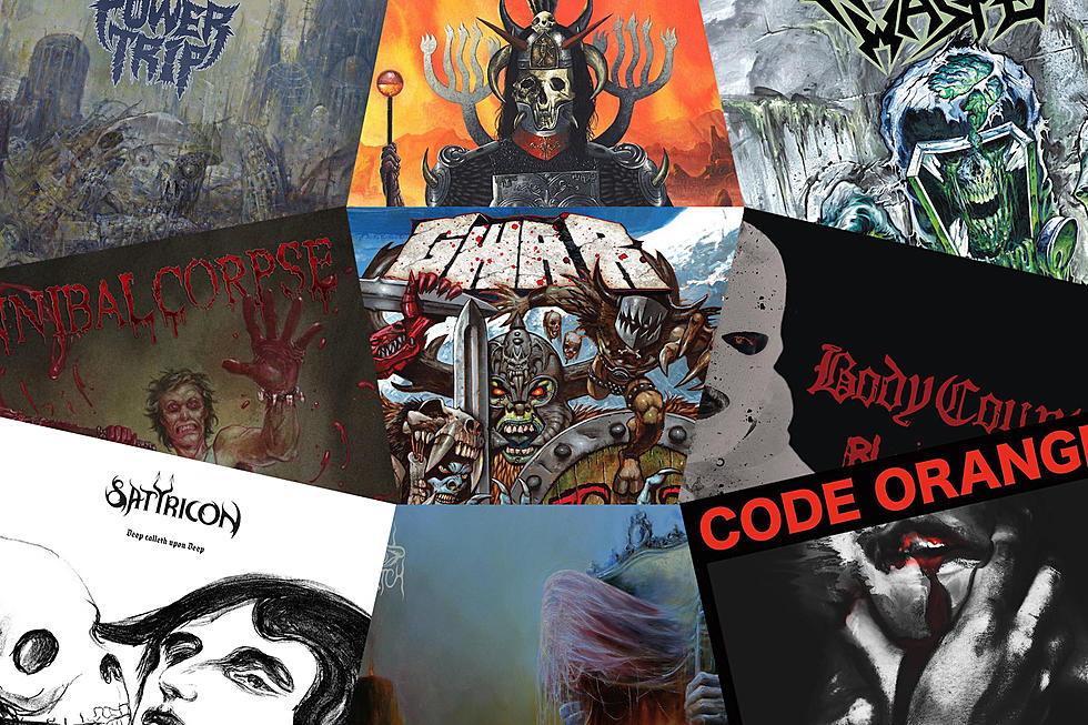 25 Best Metal Albums Of 2017