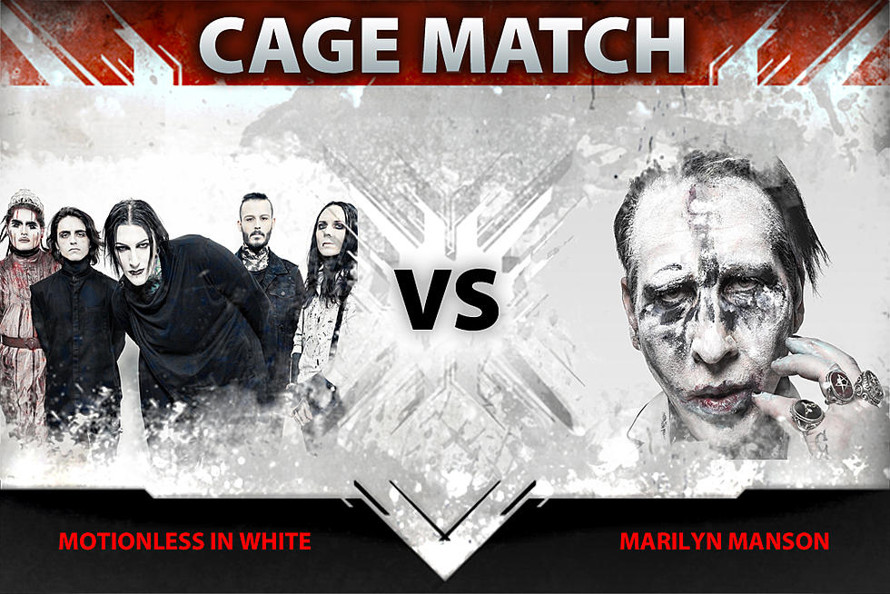 Motionless in White vs  Marilyn Manson – Cage Match