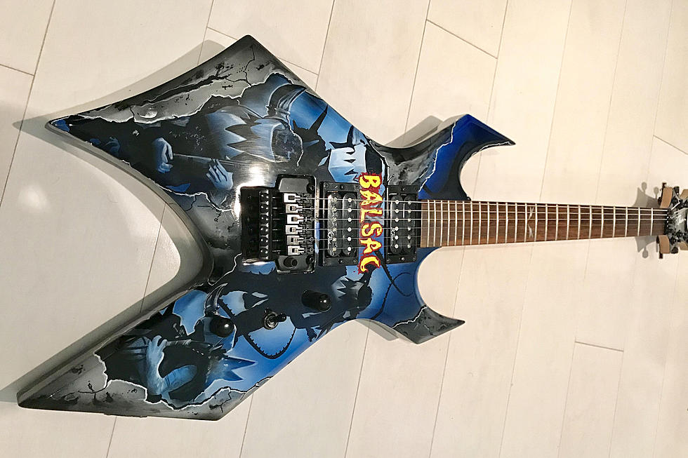 Win Signed GWAR Guitar by Donating to Help Balsac's Medical