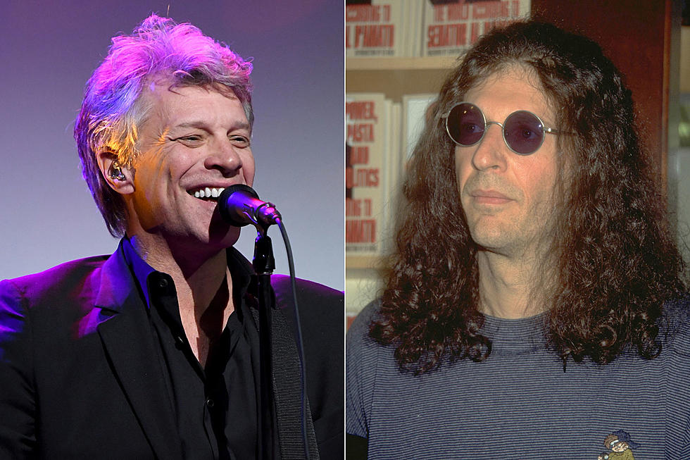 Howard Stern Chosen to Induct Bon Jovi Into Rock Hall