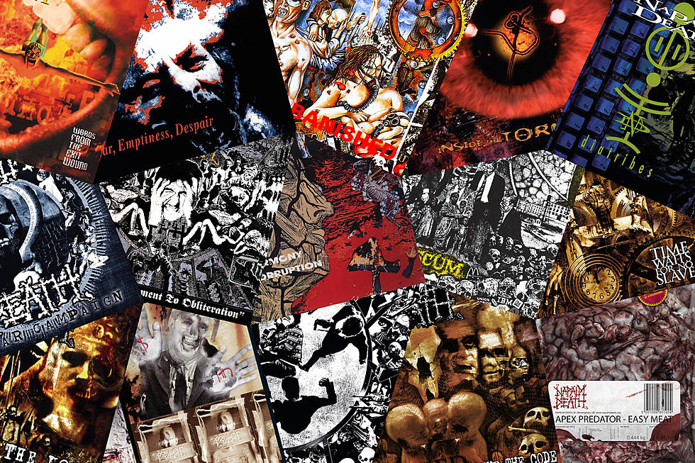 Napalm Death Albums Ranked