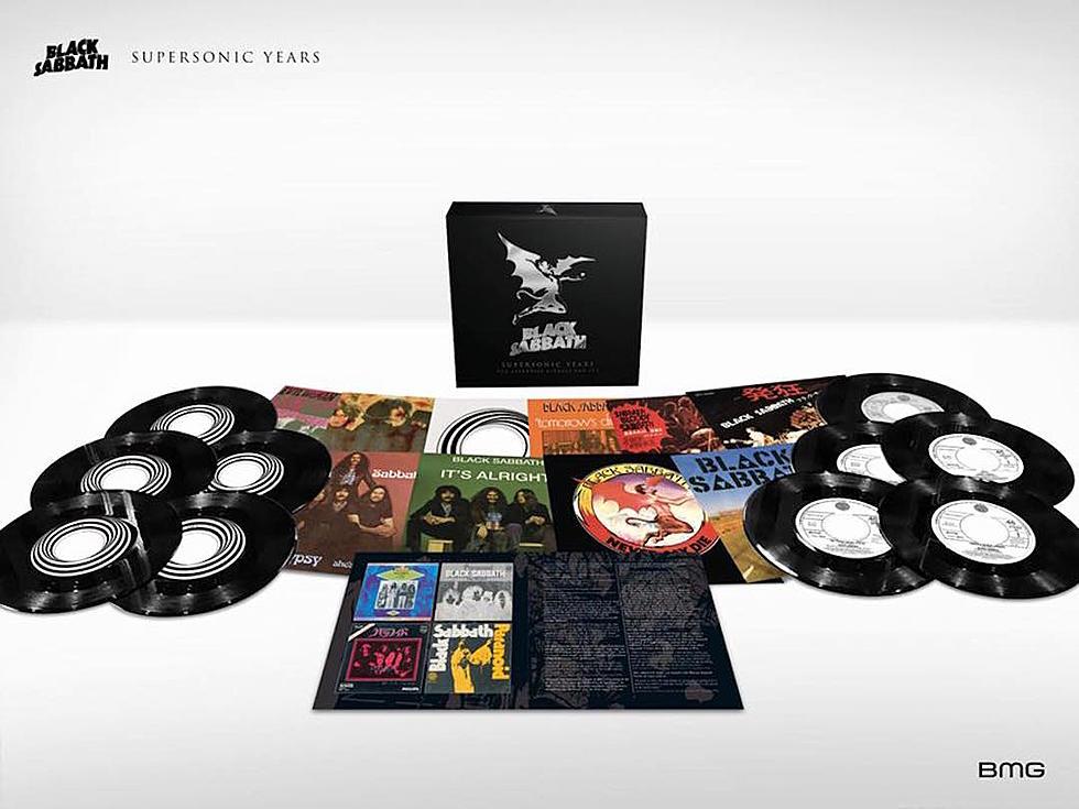 New Black Sabbath Vinyl Box Set Celebrates Seventies Singles