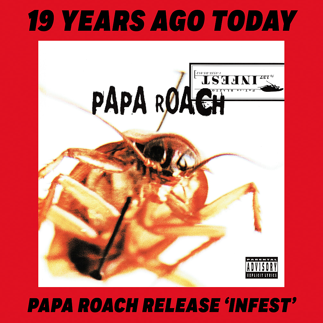 19 Years Ago: Papa Roach Break Out With 'Infest' Album