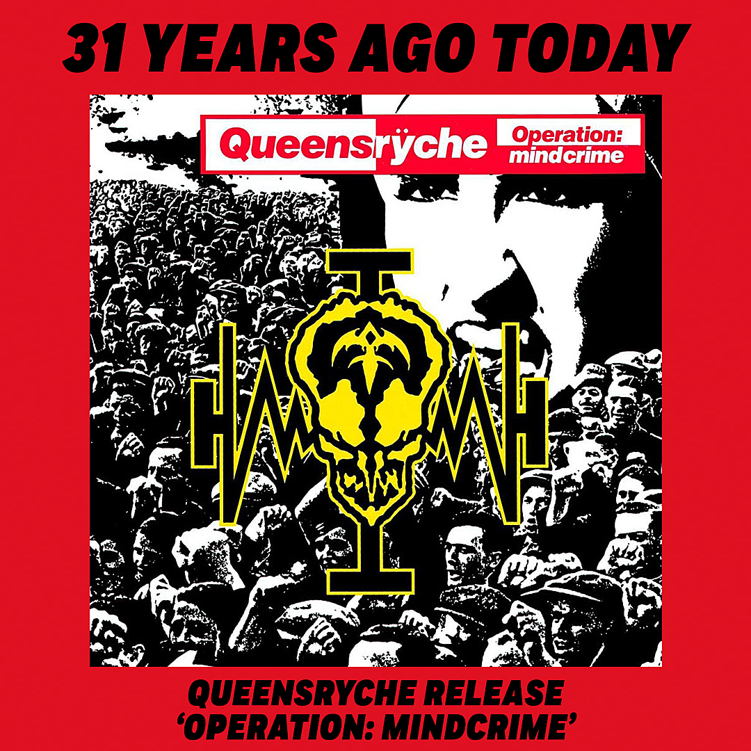 31 Years Ago: Queensryche Release 'Operation: Mindcrime'