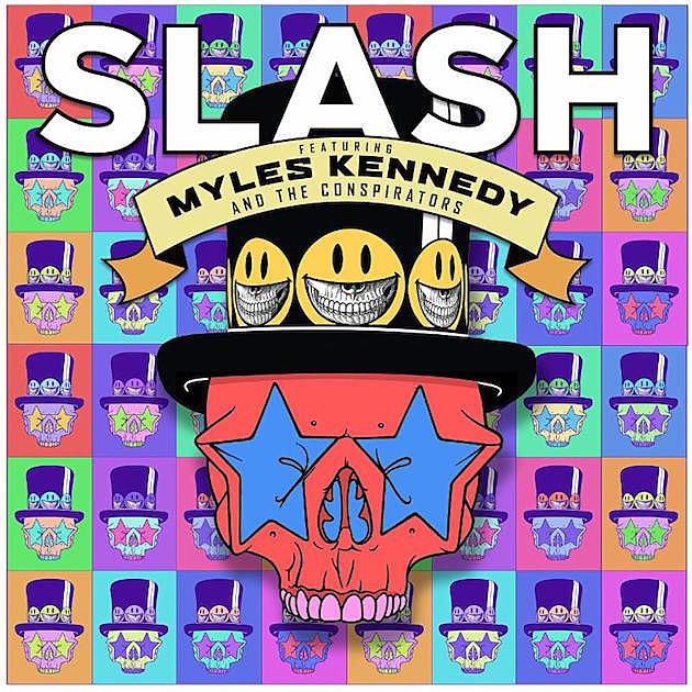 Slash & Myles Kennedy Release 'Driving Rain,' Share Album