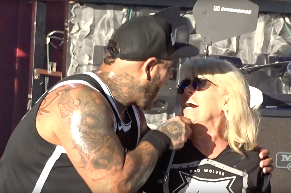 Bad Wolves Bring Tommy Vext's Mom Onstage to Sing 'Zombie'