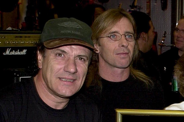 Looks Like Brian Johnson + Phil Rudd Are Back in AC/DC