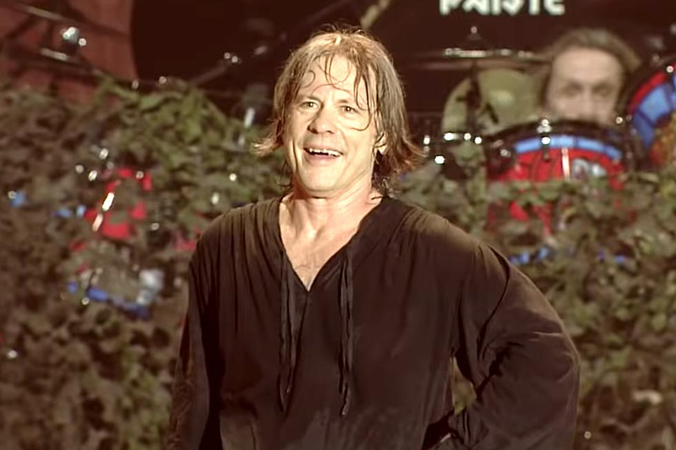 Iron Maiden Crowd Sings 'Happy Birthday' to Bruce Dickinson