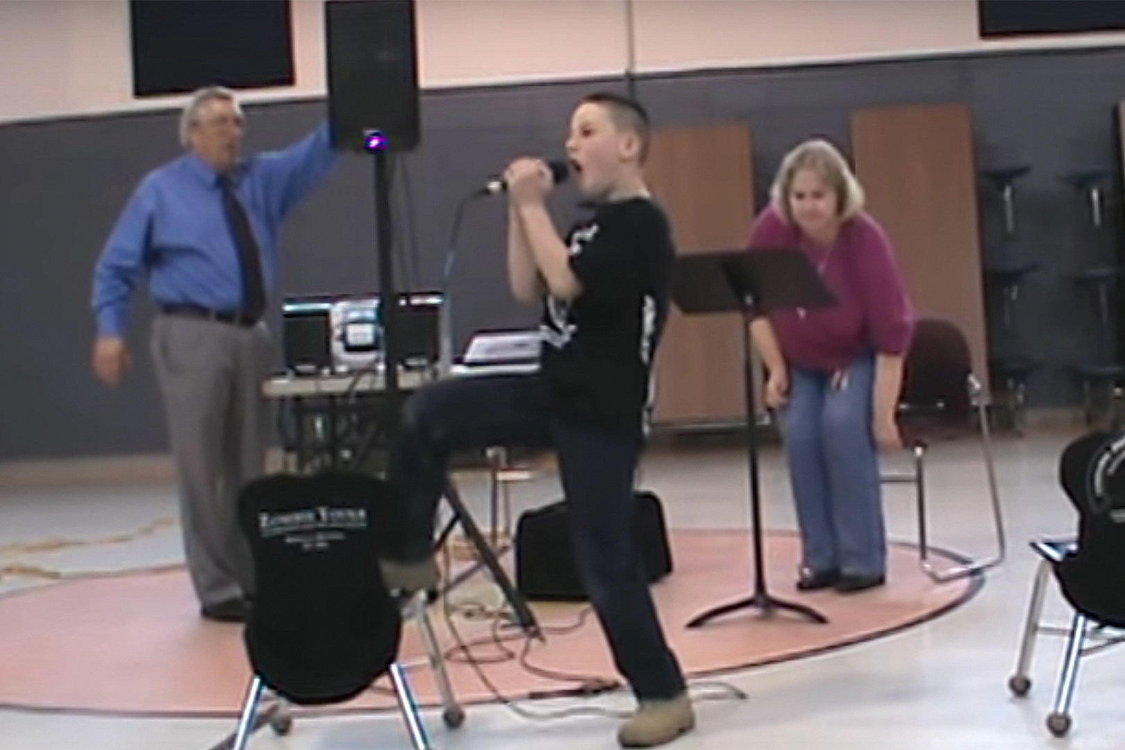 Nine-Year-Old Covering Slipknot at Talent Show Knows What's Up