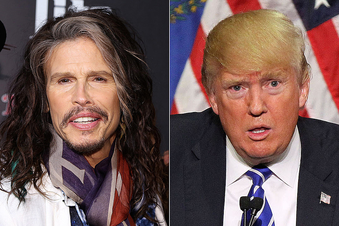 Steven Tyler Asks Trump to Stop Using Aerosmith Songs at Rallies