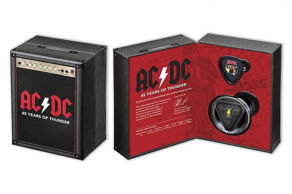 474bf80f2459 Australian Government Strikes AC/DC Commemorative Coins With Lightning