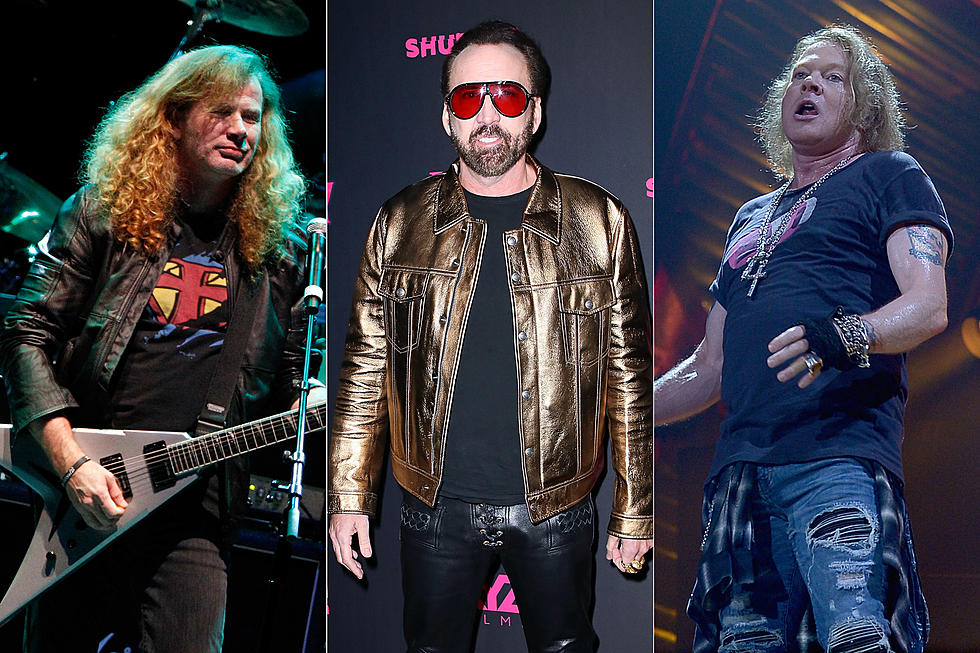 Nicolas Cage Channels Dave Mustaine and Axl Rose in 'Mandy'