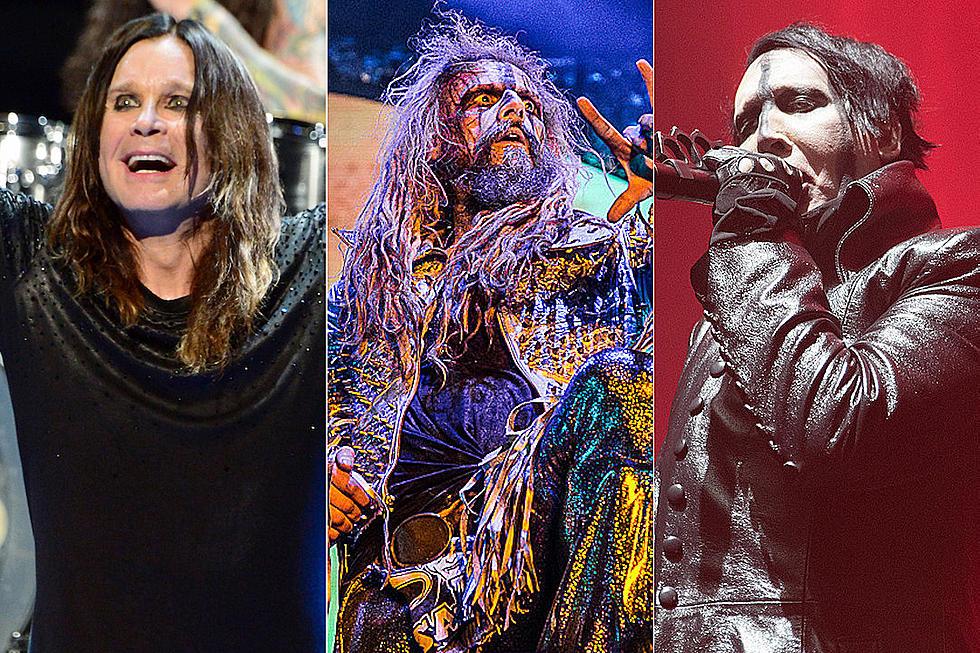 Rob Zombie Tour 2020.Ozzy Osbourne Rob Zombie Marilyn Manson To Play 2018 Ozzfest