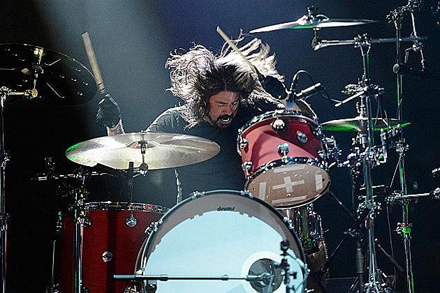 Dave Grohl Drum Setup