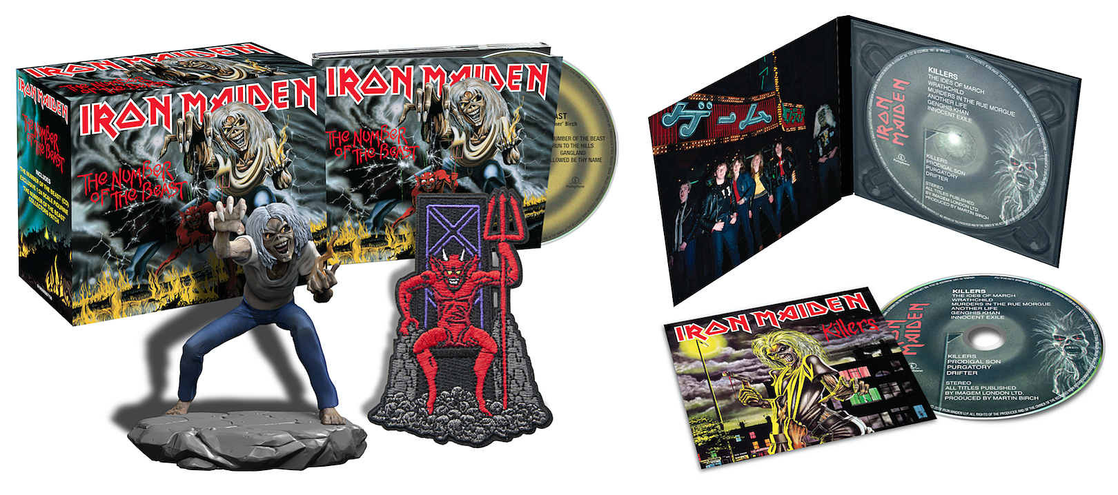 Iron Maiden s Remastered Studio Albums Finally Arriving on CD bf82e97eb