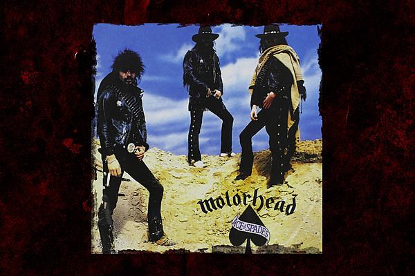 Motorhead Ace Of Spades Anniversary 600 Zc 89 Years Ago Burst Into