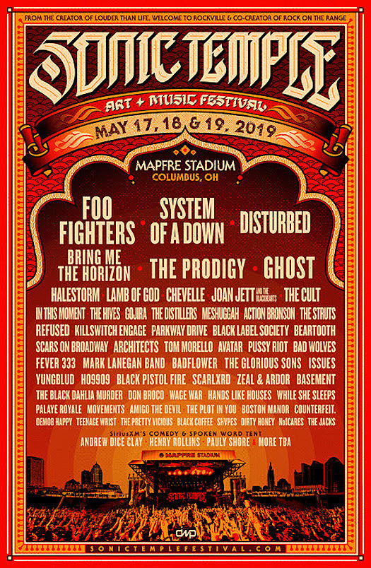 Foo Fighters, System of a Down + More Announced for Sonic Temple