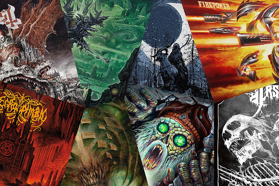 30 Totally Sick Metal Album Covers From 2018