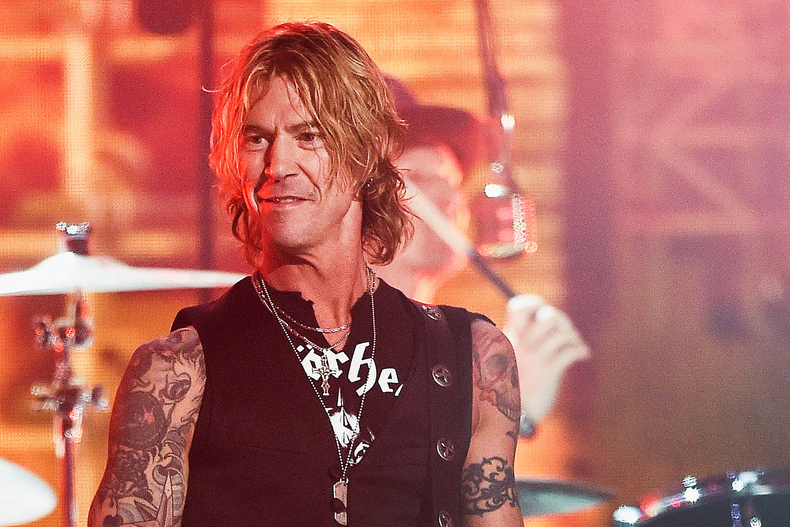The 56-year old son of father (?) and mother(?) Duff Mckagan in 2020 photo. Duff Mckagan earned a million dollar salary - leaving the net worth at million in 2020