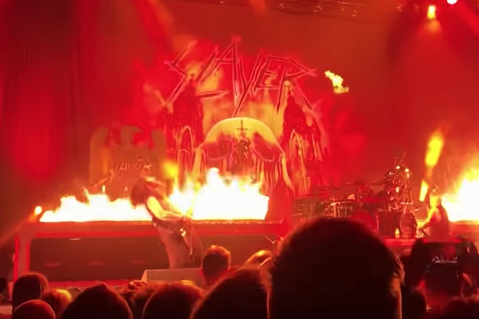 Watch Slayer Perform With Ex-Machine Head Guitarist Phil Demmel
