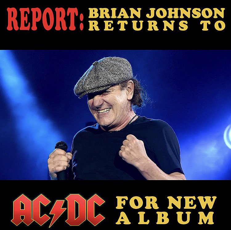 ACDC 4 Brian Johnson Poster Rock Metal Band Star Picture Hard Guitar On Stage