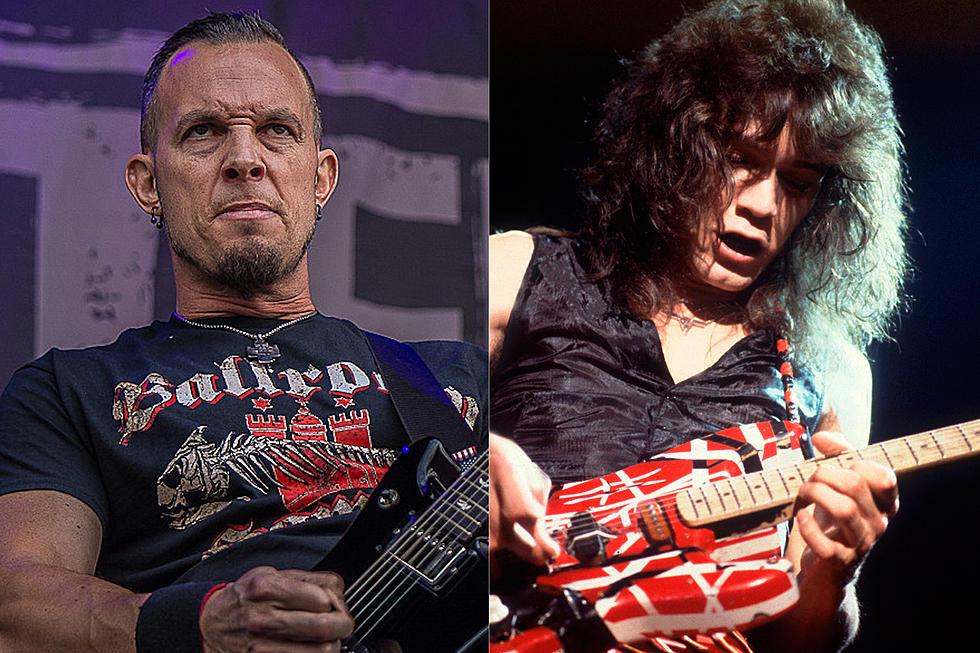Mark Tremonti Talks Nerves Playing In Front Of Eddie Van Halen