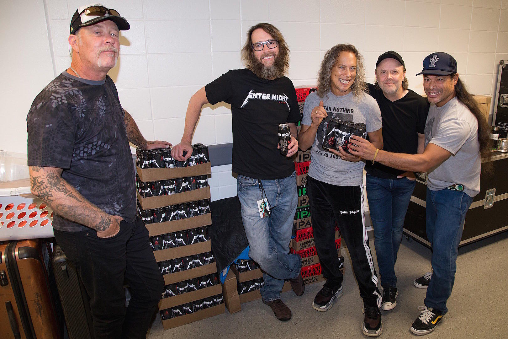 34f2f3dc44f0ed Metallica Reveal New  Enter Night  Pilsner Beer