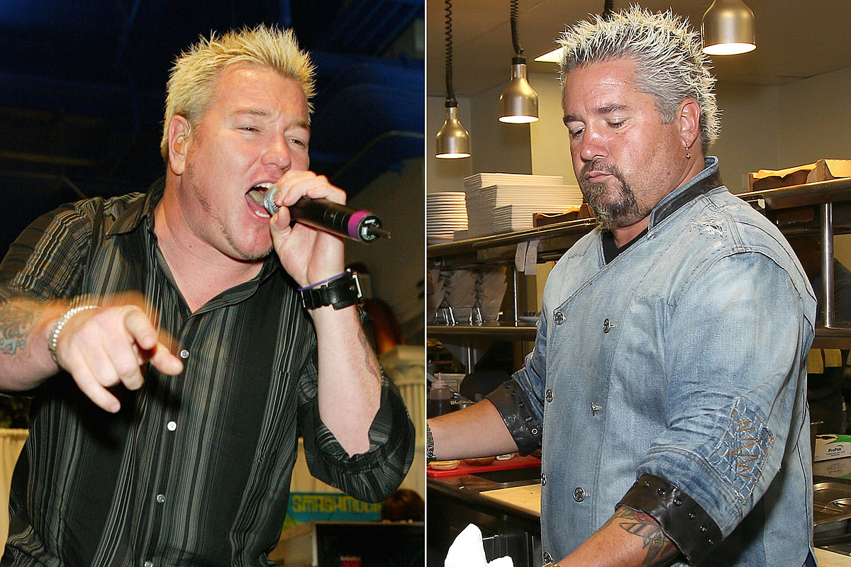 Smash Mouth Prove Their Singer + Guy Fieri Aren't the Same Person