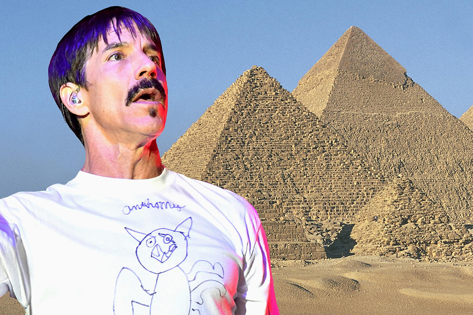 6aed64b5f Red Hot Chili Peppers to Perform at Egypt's Pyramids of Giza