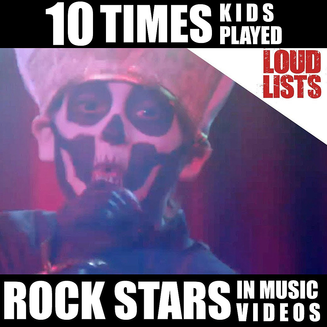 10 Times Kids Played Rock Stars in Music Videos