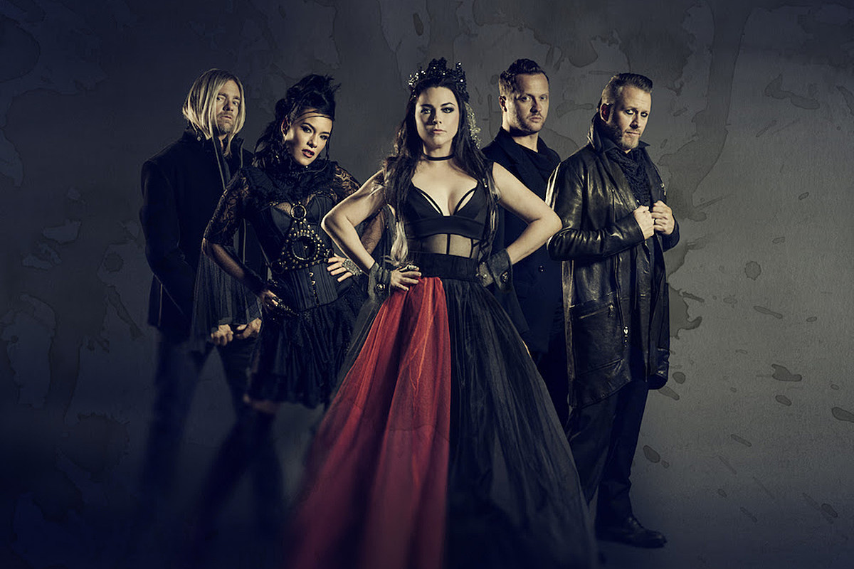 Evanescence 2020 Tour Evanescence Aiming to Release New Album in 2020