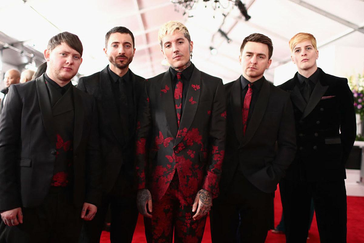 Bring Me the Horizon Hang With Backstreet Boys at The Grammys