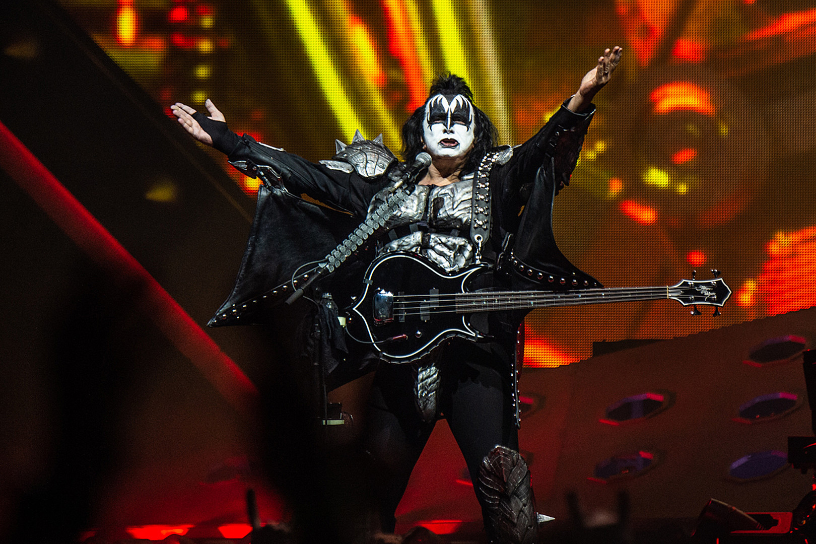 KISS' Gene Simmons 'Going to Cry Like a Young Girl' at Last Show
