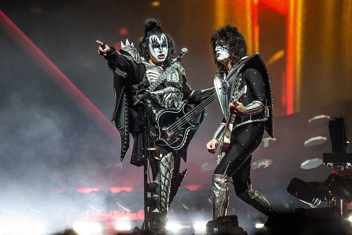 KISS Announce Last Leg of 'The End of the Road' Farewell Tour