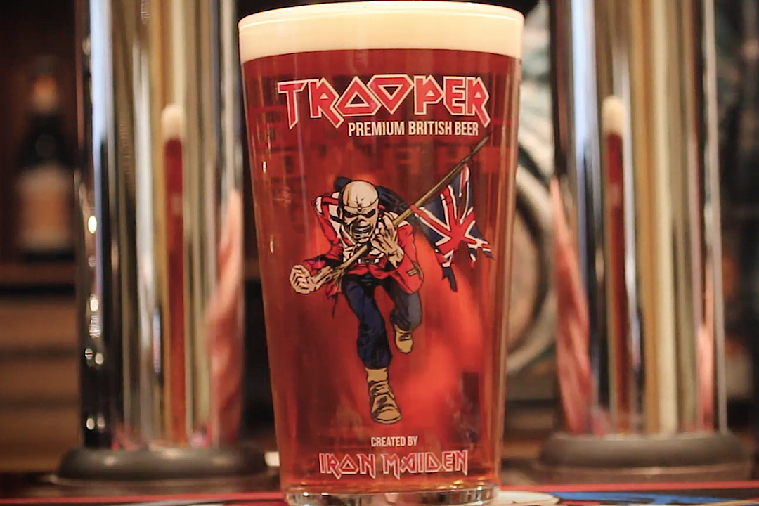 iron maiden\u0027s trooper beer unveils \u0027nitro\u0027 edition