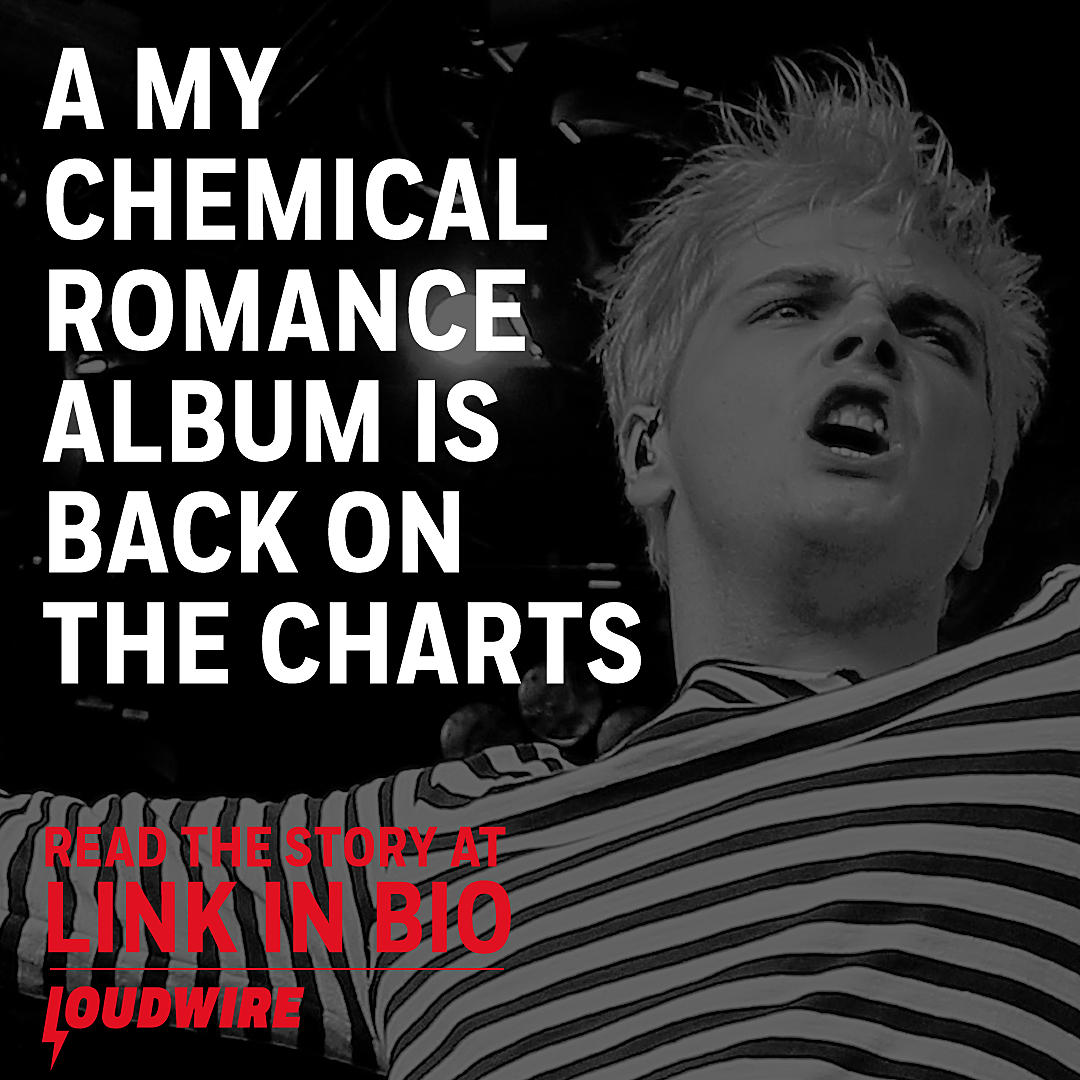 My Chemical Romance's 'Three Cheers' Is Back on the Charts