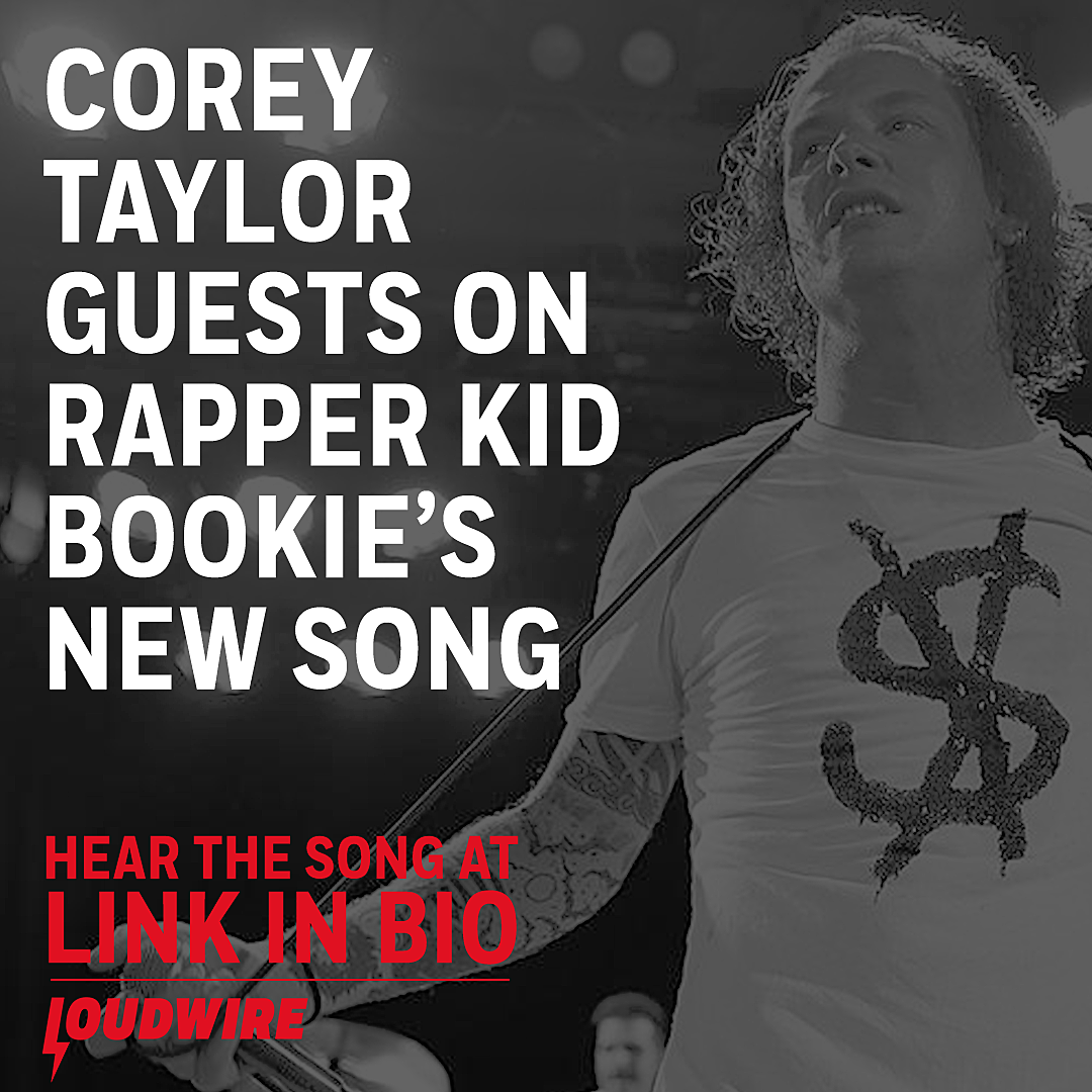 Corey Taylor Guests on Rapper Kid Bookie's New Song