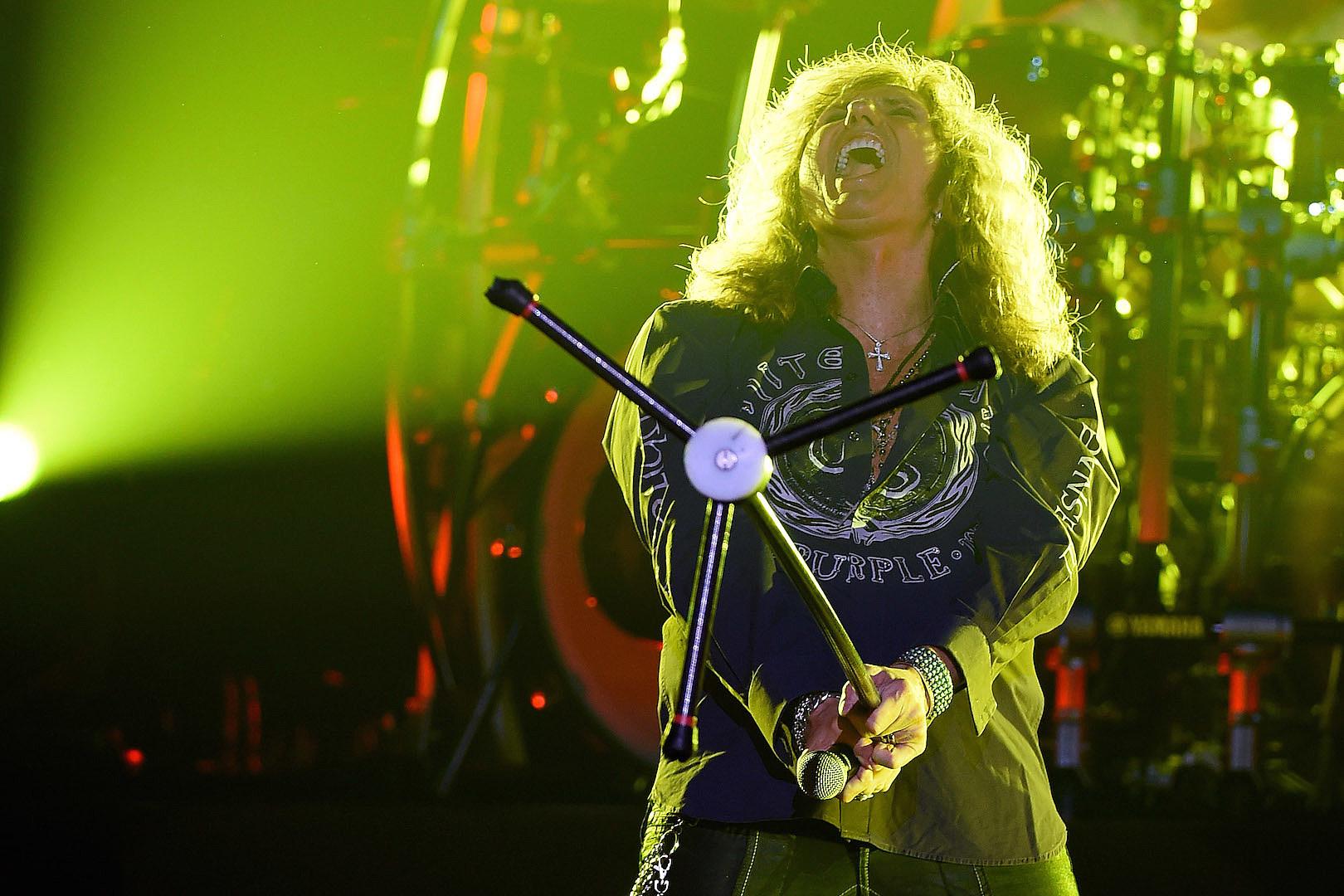 Whitesnake's David Coverdale: Meditation, Love, Ritchie Blackmore